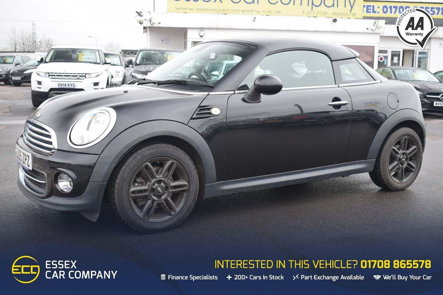 Mini Coupe 1.6 Cooper 2dr Coupe Petrol Black