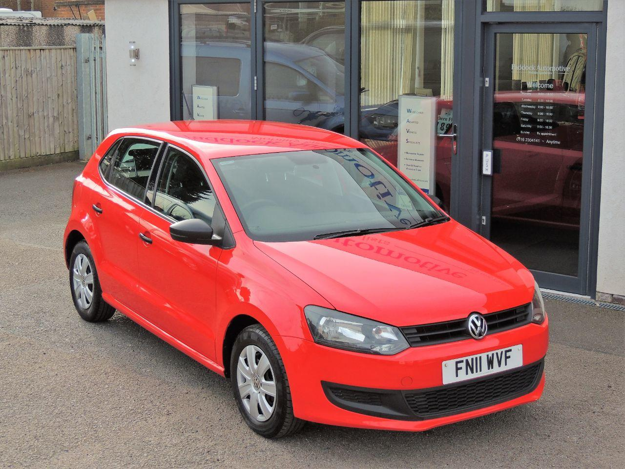 Volkswagen Polo 1.2 60 S 5dr [AC] Hatchback Petrol Ruby Red