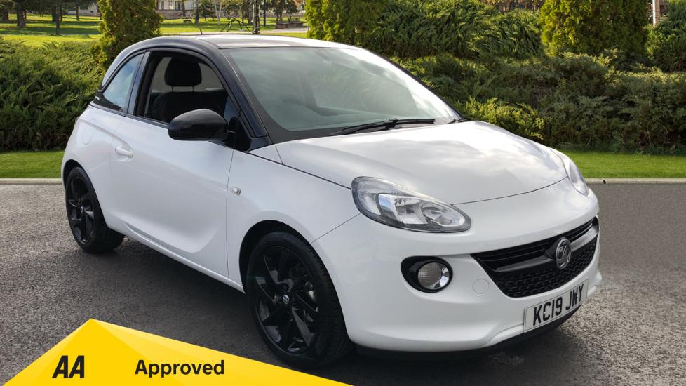Vauxhall Adam 0.0 1.2i Griffin 3dr Hatchback Petrol WHITE