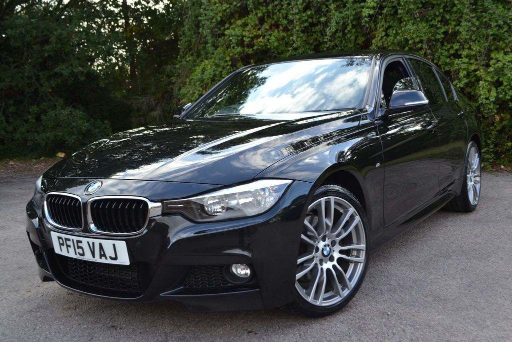 BMW 3 Series 3.0 330d xDrive M Sport 4dr Step Auto [Business Media] Saloon Diesel Black