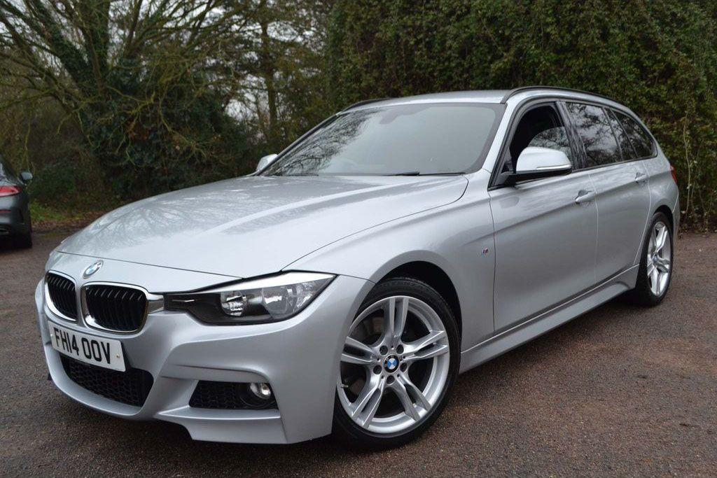BMW 3 Series 2.0 320d M Sport 5dr Step Auto Estate Diesel Silver
