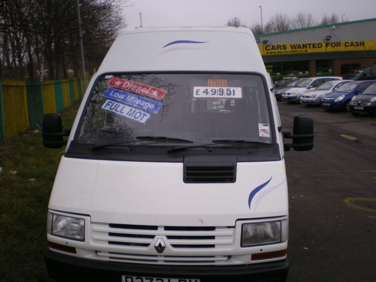 Renault Trafic 2.1 TRAFIC T1100D LWB Motorhome Diesel White at Dils Car Sales South Shields