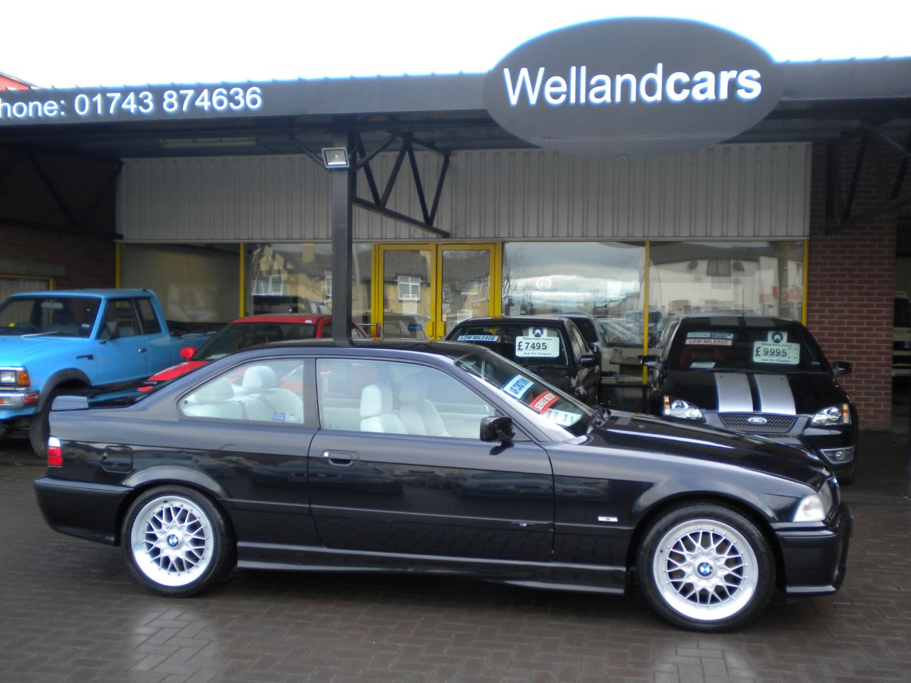 BMW 3 Series 2.8 328i Sport Coupe M-Tech Manual, Full Service History, 1 Previous Owner, Grey Leather - Stunning ! Coupe Petrol Cosmos Black at Welland Cars Shrewsbury