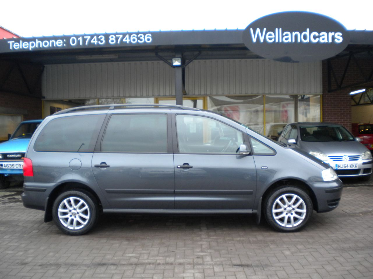 Volkswagen Sharan 2.0 TDI SE 140 5dr 6 Speed Manual, F/S/H,Full Leather 7 Seater, Climate Control. MPV Diesel Grey at Welland Cars Shrewsbury
