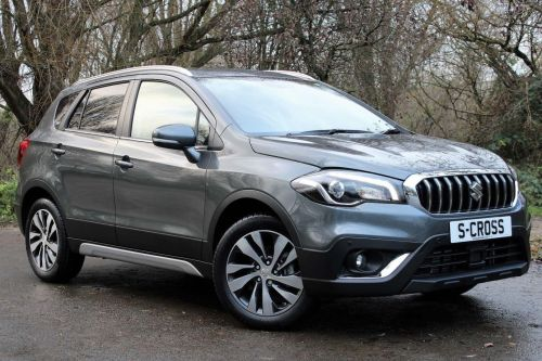 Suzuki Sx4 S-Cross SZ5 Auto  1.4 Boosterjet | Sat Nav | Leather | Sunroof | SUV Hybrid Grey