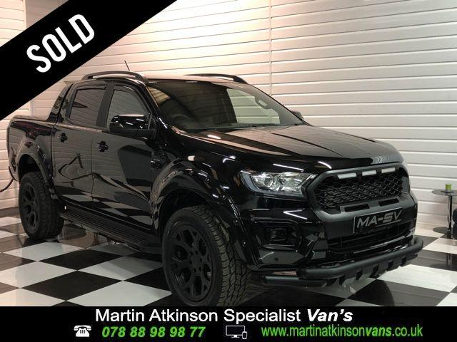 Ford Ranger Wildtrak 2.0 BiTurbo EcoBlue MA-SV Edition 213BHP Pick Up Diesel Shadow Black