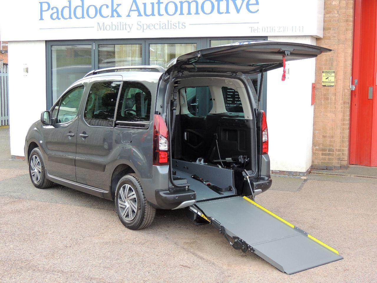 Citroen Berlingo Multispace 1.6 BlueHDi 100 XTR 5dr ETG6 Wheelchair Adapted Diesel Grey Mica