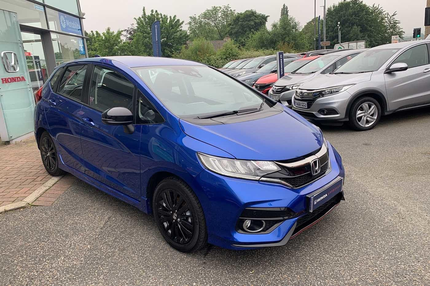 Honda Jazz 1.5 i-VTEC Sport Navi 5-Door Hatchback Petrol Brilliant Sporty Blue