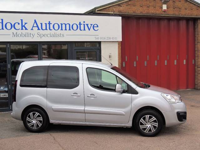 Citroen Berlingo Multispace 1.6 VTi 95 Feel 5dr Wheelchair Adapted Petrol Arctic Steel Metallic