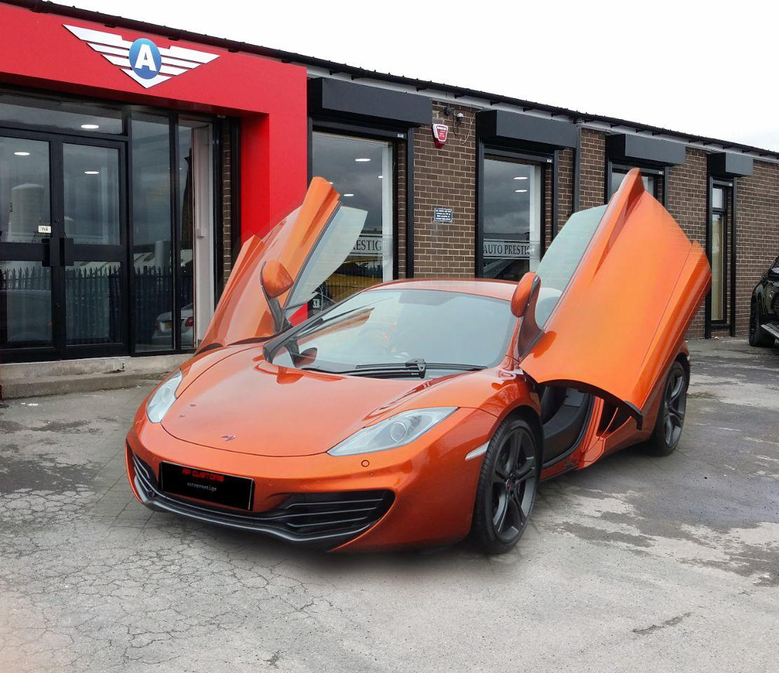 McLaren MP4-12C V8 SPIDER 615 3.8 3DR CARBON EXTRAS Convertible Petrol Volcano Orange