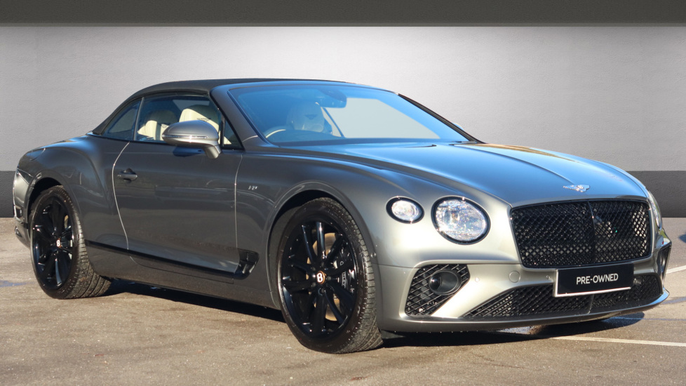 Bentley Continental GT 0.0 4.0 V8 2dr Convertible Petrol Granite