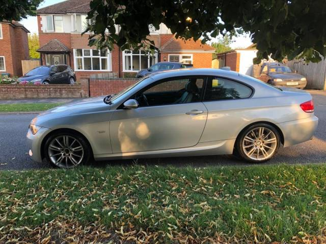 BMW 3 Series 1,995.0 320I M SPORT Coupe Petrol Silver