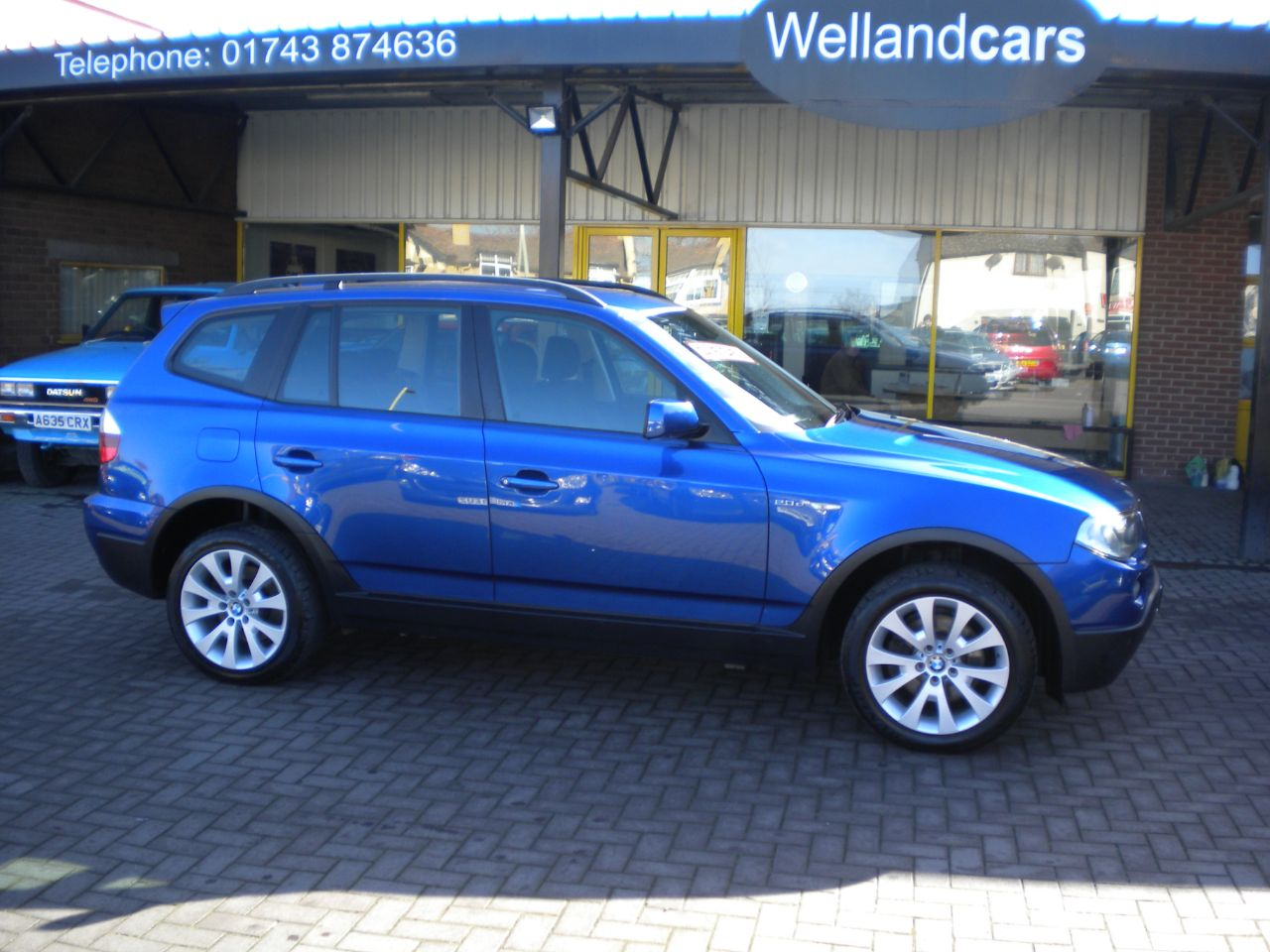 BMW X3 2.0d SE 5dr Sport Pack 6 Speed Manual Diesel 4x4, Full BMW History,1 Owner,18`Alloys, Park Assist Estate Diesel Metallic Le Mans Blue at Welland Cars Shrewsbury