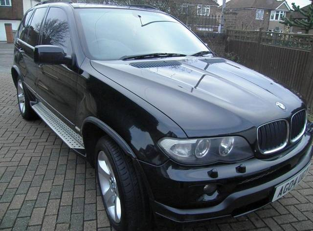 BMW X5 3.0 SPORT 24V Estate Petrol Black