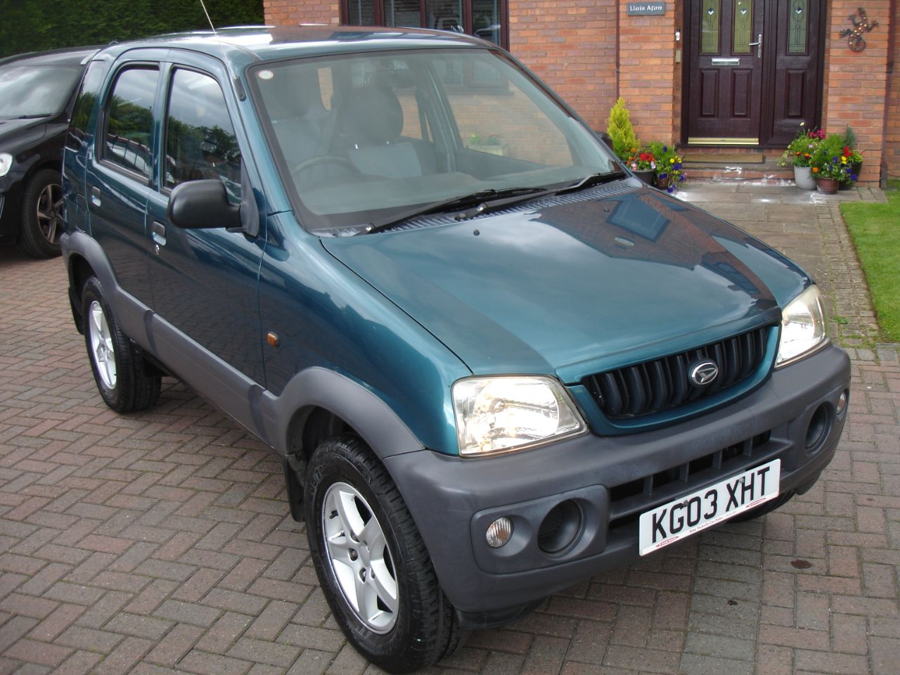 Daihatsu Terios 1.3 EL 5dr Automatic 4x4 Hatchback Petrol Metallic Green at Level Pitch Selby