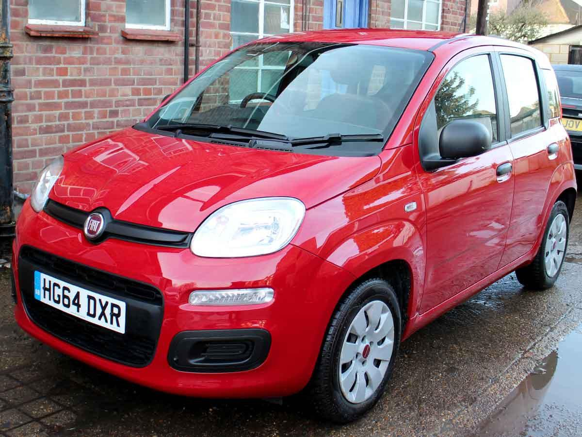 Fiat Panda 1.2 POP Hatchback Petrol Red