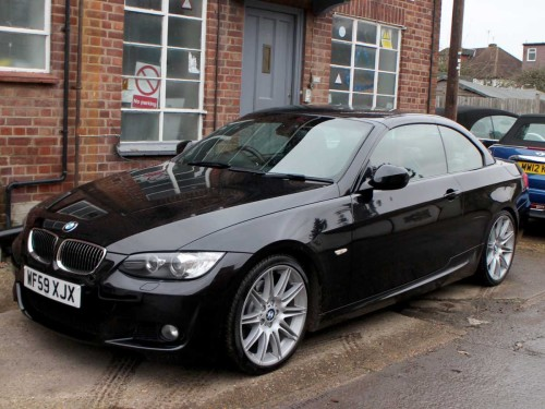 BMW 3 Series 3.0 330I M SPORT HIGHLINE Convertible Petrol Black