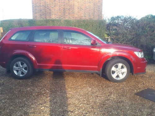 Dodge Journey 2.0 CRD SXT MPV Diesel Red