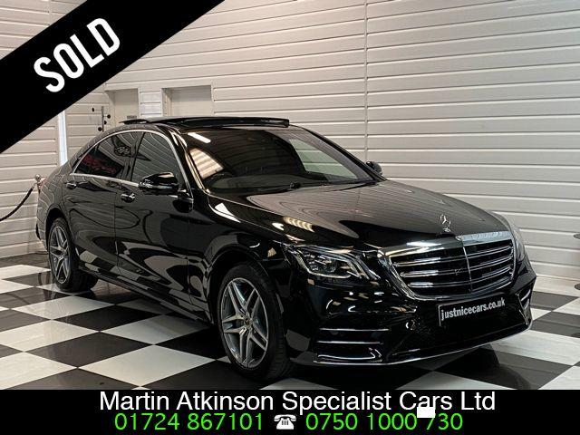 Mercedes-Benz S Class 3.0 S350d L AMG Line Executive Premium Plus 4dr 9G-Tronic Saloon Diesel Obsidian Black Metallic