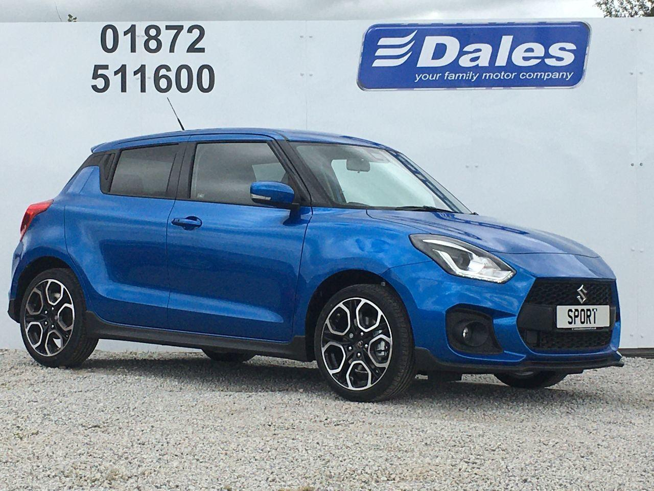 Suzuki Swift 1.4 BOOSTERJET SPORT HYBRID Hatchback Petrol / Electric Hybrid Speedy Blue