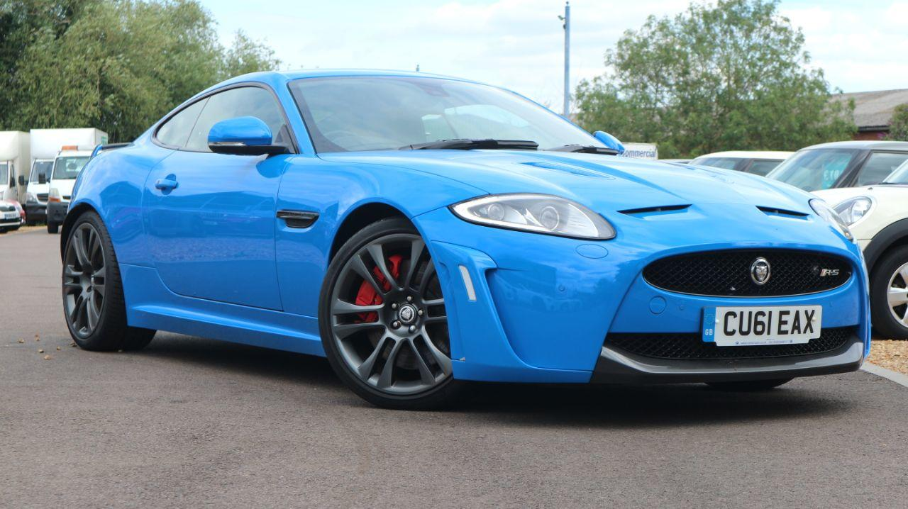 Jaguar XK 5.0 Supercharged V8 R-S 2dr Auto Coupe Petrol Blue