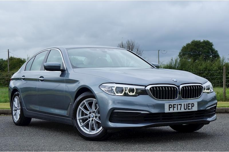 BMW 5 Series 2.0 SE Saloon Saloon Diesel Bluestone Metallic