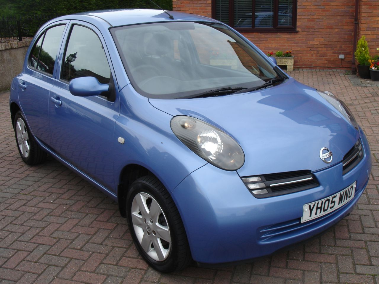 Nissan Micra 1.2 Urbis 16v 5dr Hatchback Petrol Metallic Blue at Level Pitch Selby