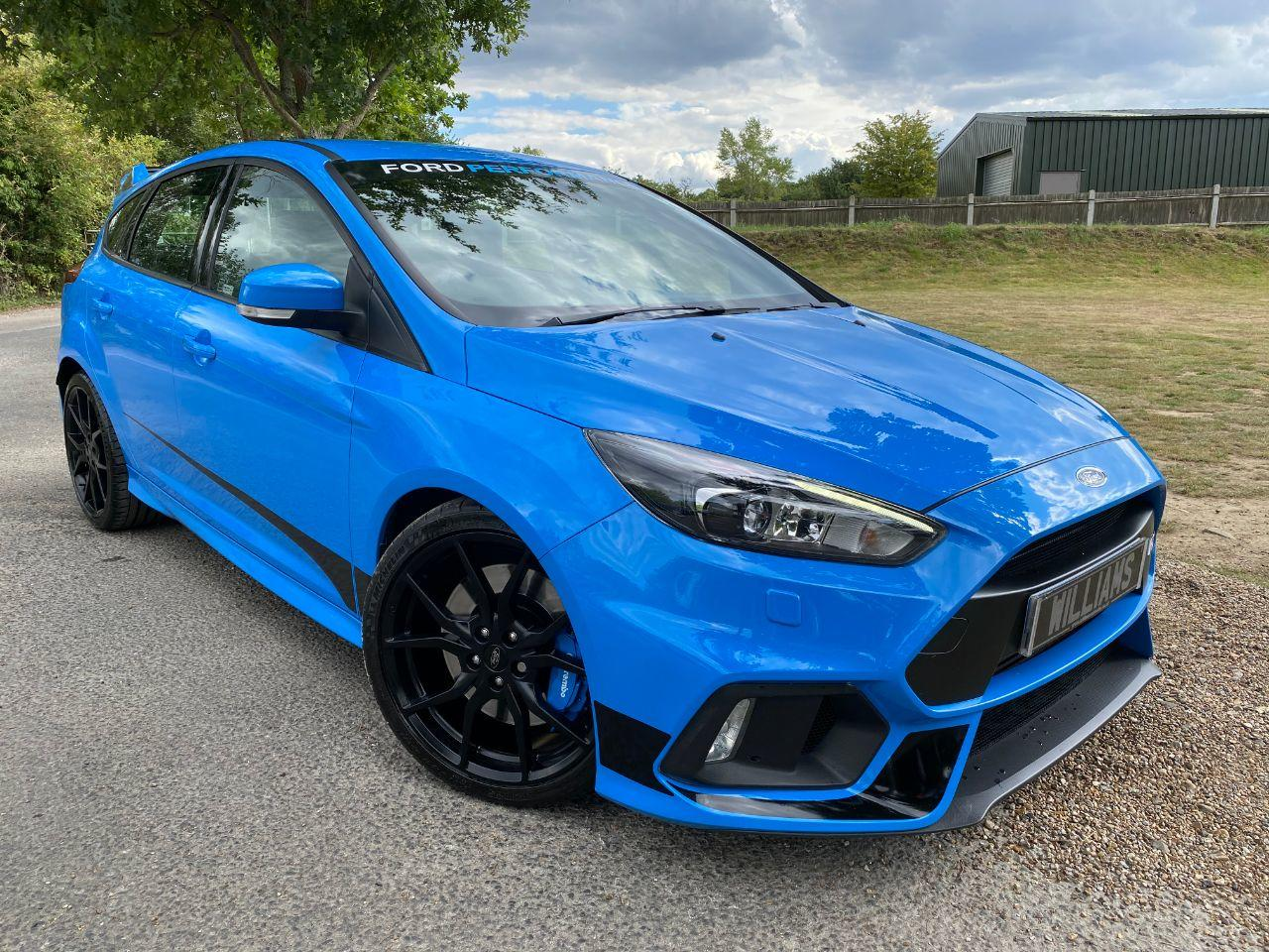 Ford Focus Rs 2.3 EcoBoost 5dr (19in Aloys! SONY DAB Nav! ++) Hatchback Petrol Nitrous Blue Metallic