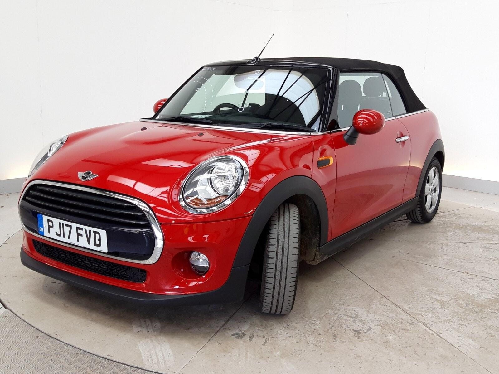 Mini Convertible 1.5 Cooper 2dr Convertible Petrol Red