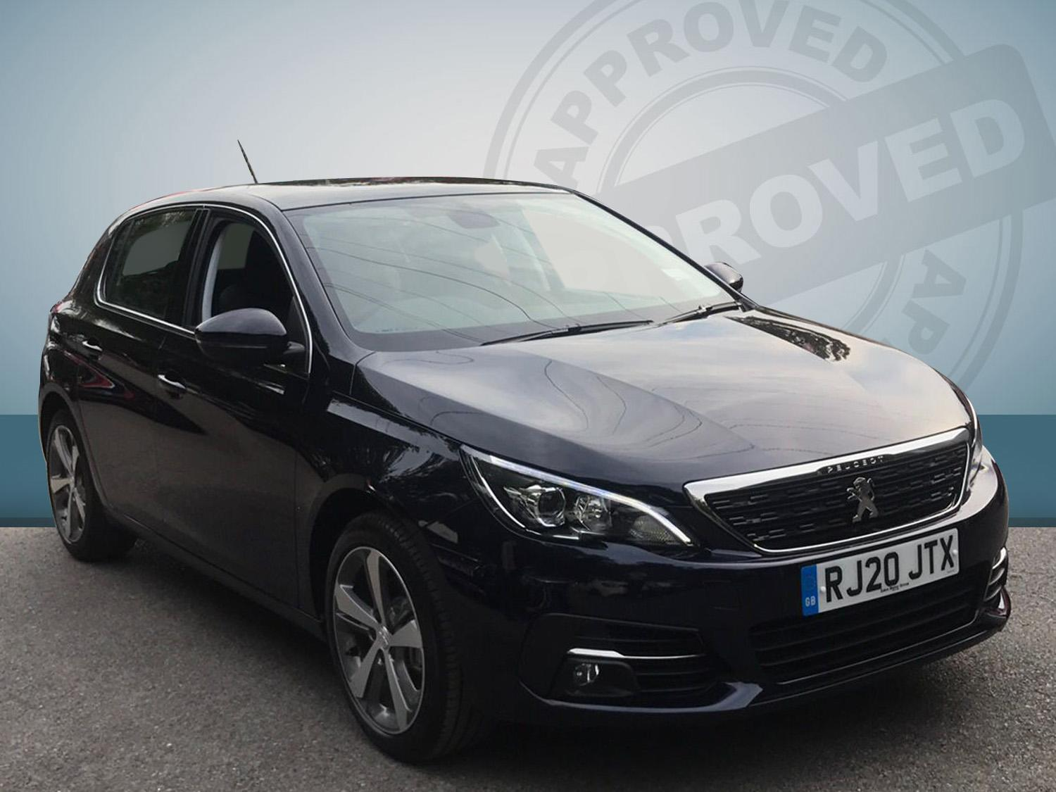 Peugeot 308 1.2 PureTech 130 Allure 5dr EAT8 Hatchback Petrol Black
