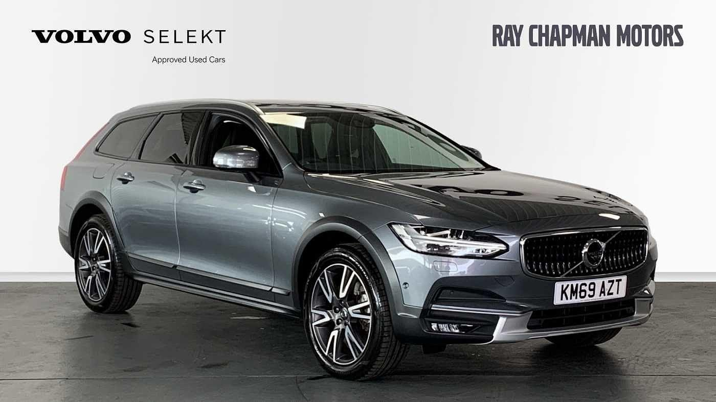Volvo V90 2.0 D4 AWD Cross Country Plus Auto (Xenium Intellisafe & Winter Packs) Crossover Diesel Osmium Grey