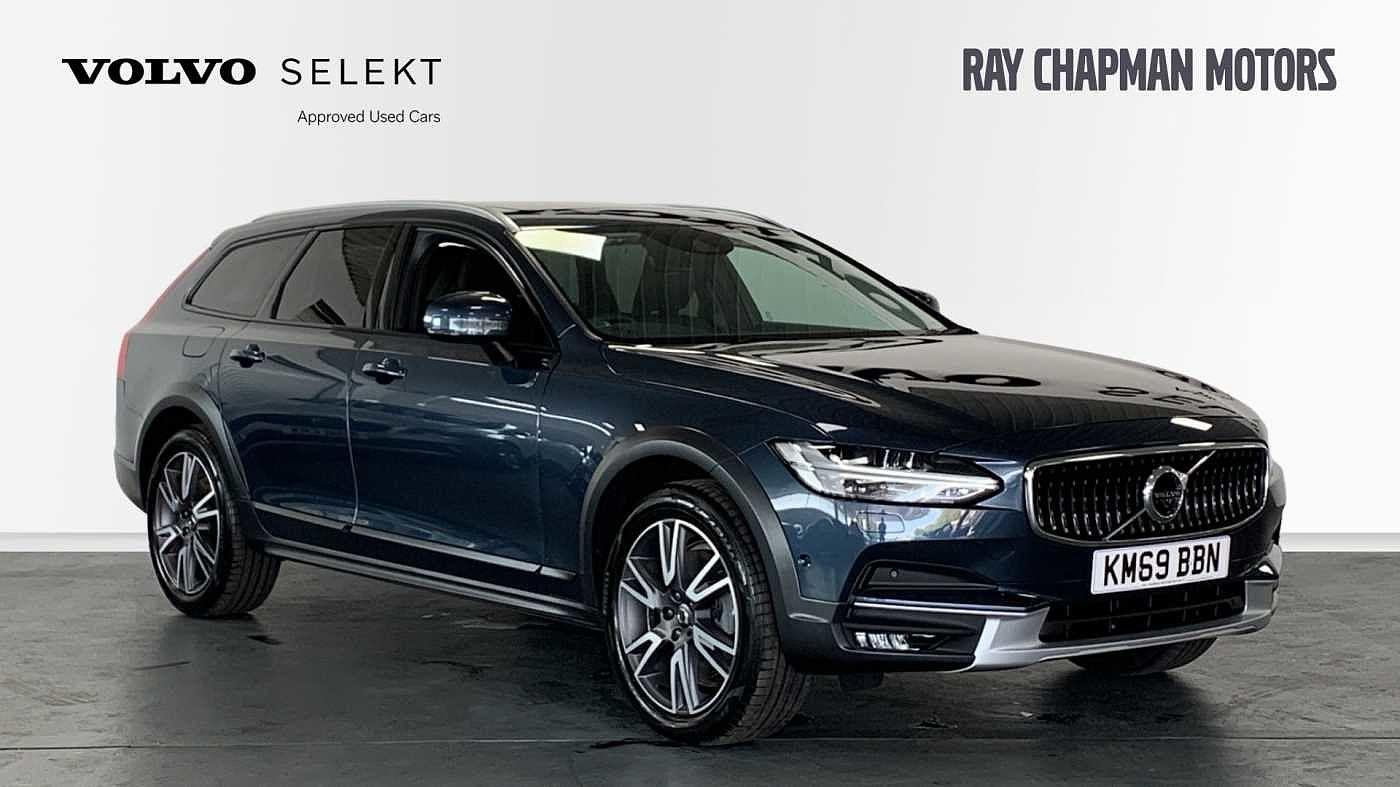 Volvo V90 2.0 D4 AWD Cross Country Plus Auto (Xenium, Intellisafe & Winter Packs) Crossover Diesel Denim Blue