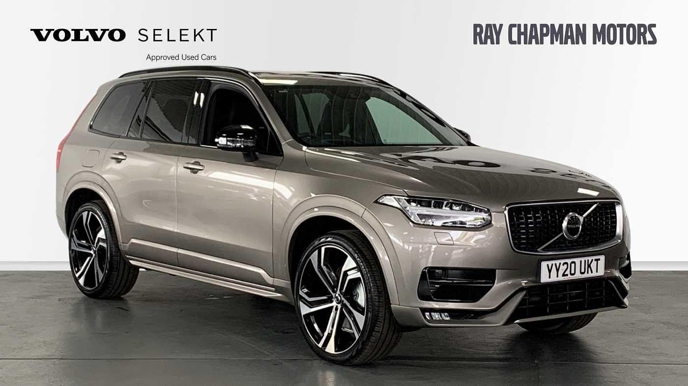 Volvo XC90 2.0 B5 (Diesel) AWD R-Design Pro Automatic Crossover Diesel Pebble Grey