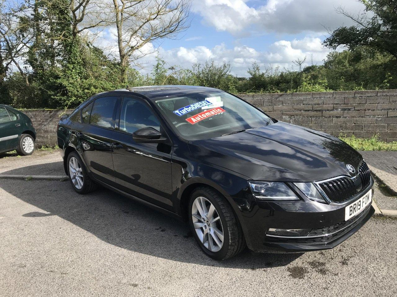 Skoda Octavia 2.0 TDI CR SE L 5dr DSG [7 speed] Hatchback Diesel Black