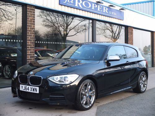 BMW 1 Series 3.0 M135i M Performance 3 door Auto, Pro Media ++ Hatchback Petrol Black Sapphire Metallic