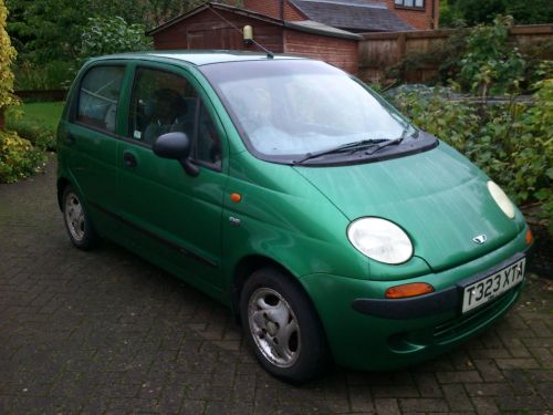 Daewoo Matiz 0.8 SE PLUS HATCHBACK PETROL GREEN
