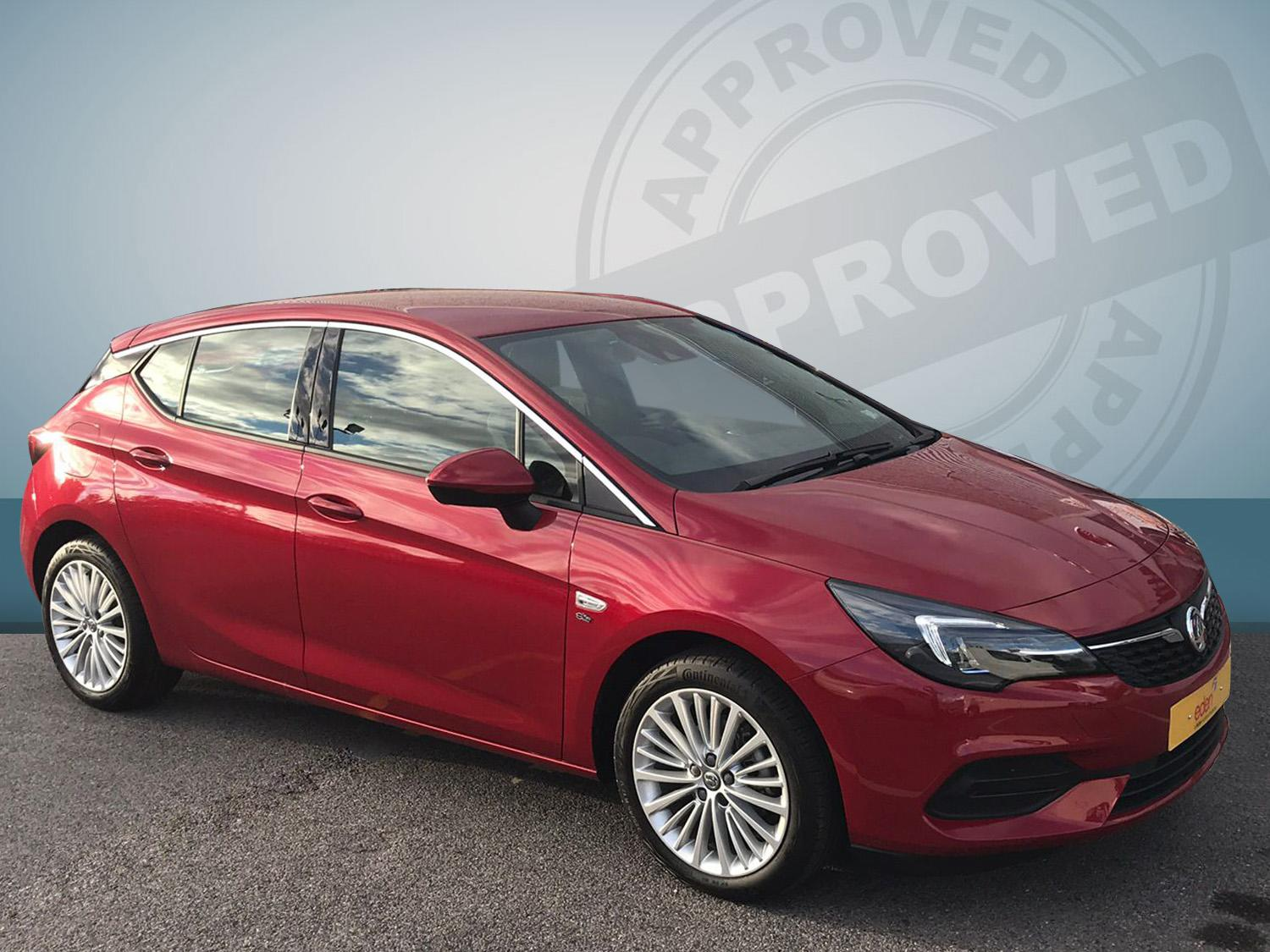 Vauxhall Astra 1.2t 145ps Elite Nav 5dr 499/279 Petrol Peperoncion Red