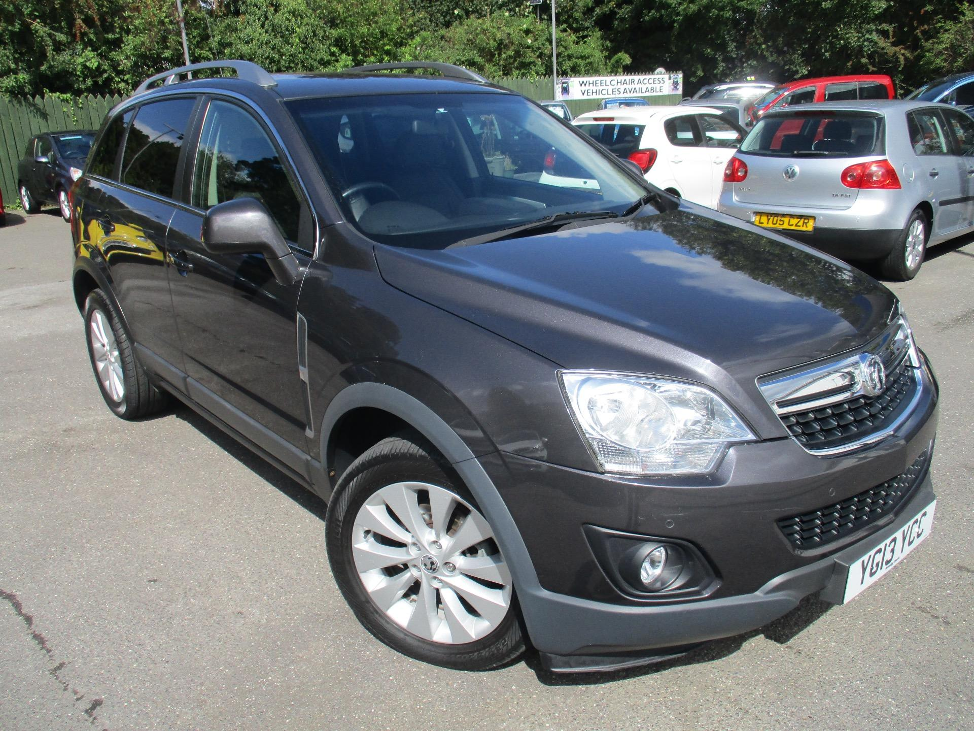 Vauxhall Antara 2.2 ANTERA DIAMOND CDTI 4x4 AUTOMATIC CAN DELIVER 07787150684 Hatchback Diesel Grey