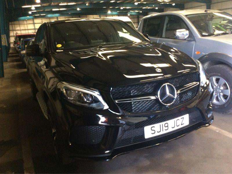 Mercedes-Benz GLE Coupe 3.0 GLE 350d 4Matic AMG Night Ed Prem + 5dr 9G-Tronic Coupe Diesel Black