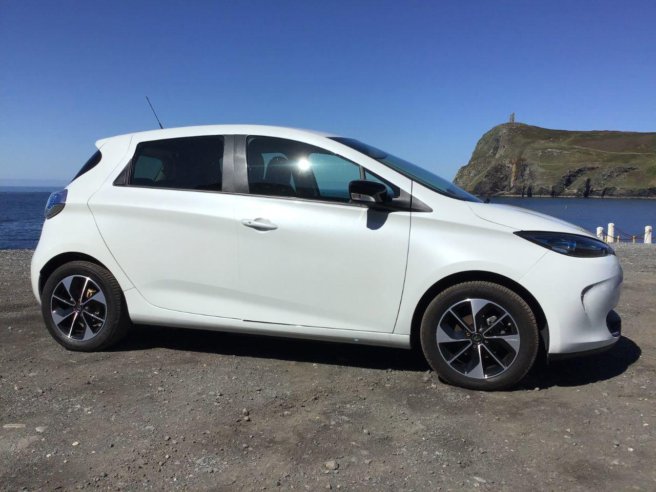Renault Zoe Dynamique Nav ZE40 R110 Hatchback Electric White