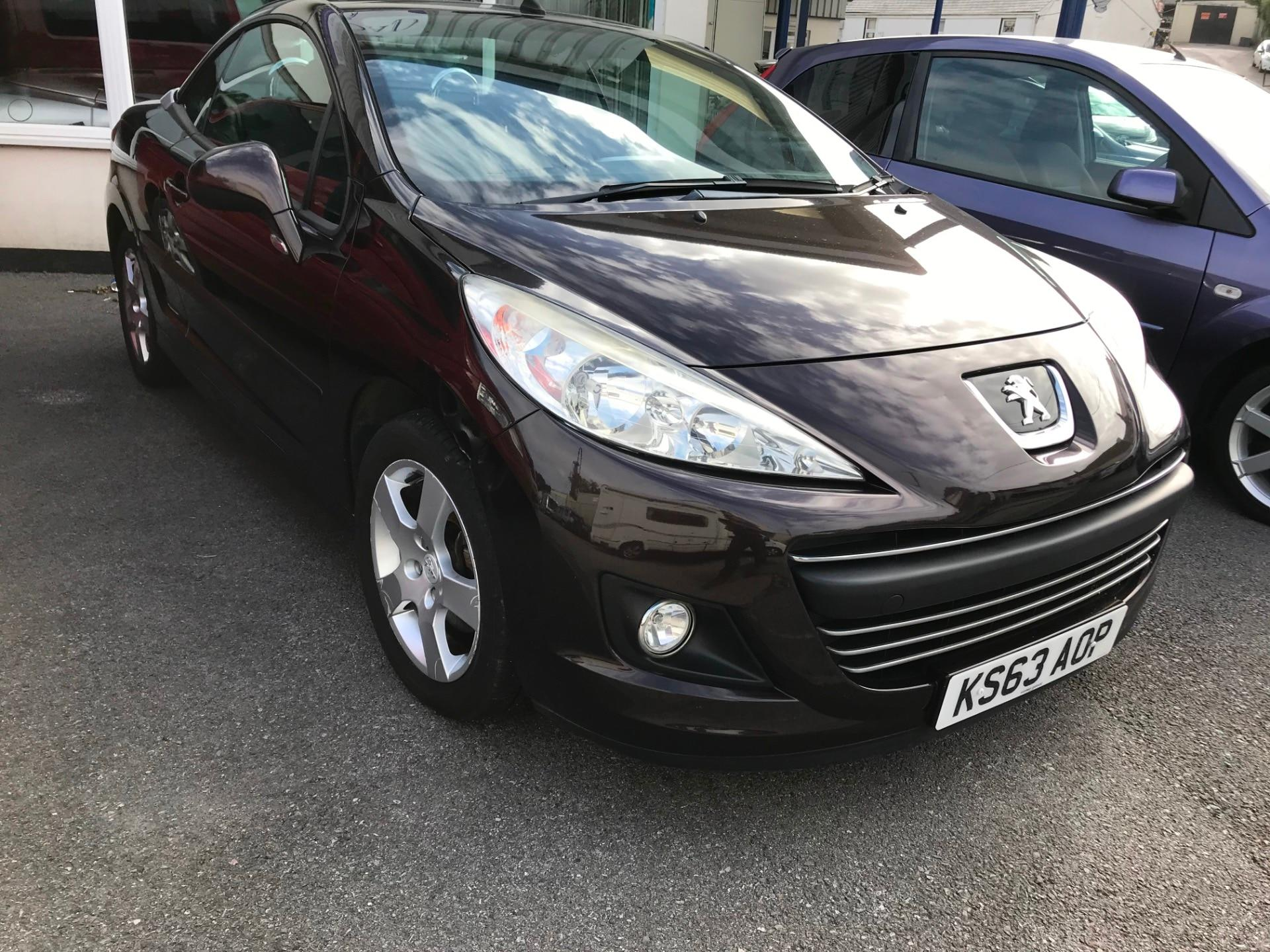 Peugeot 207 1.6 VTi Active 2dr CONVERTIBLE Petrol Red