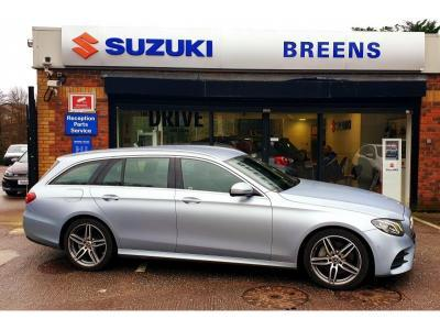 Mercedes-Benz E Class 1.9 E 220 D AMG LINE AUTO From 674 P/Month with a minimum 10% deposit. T's & C's apply Estate Diesel Silver