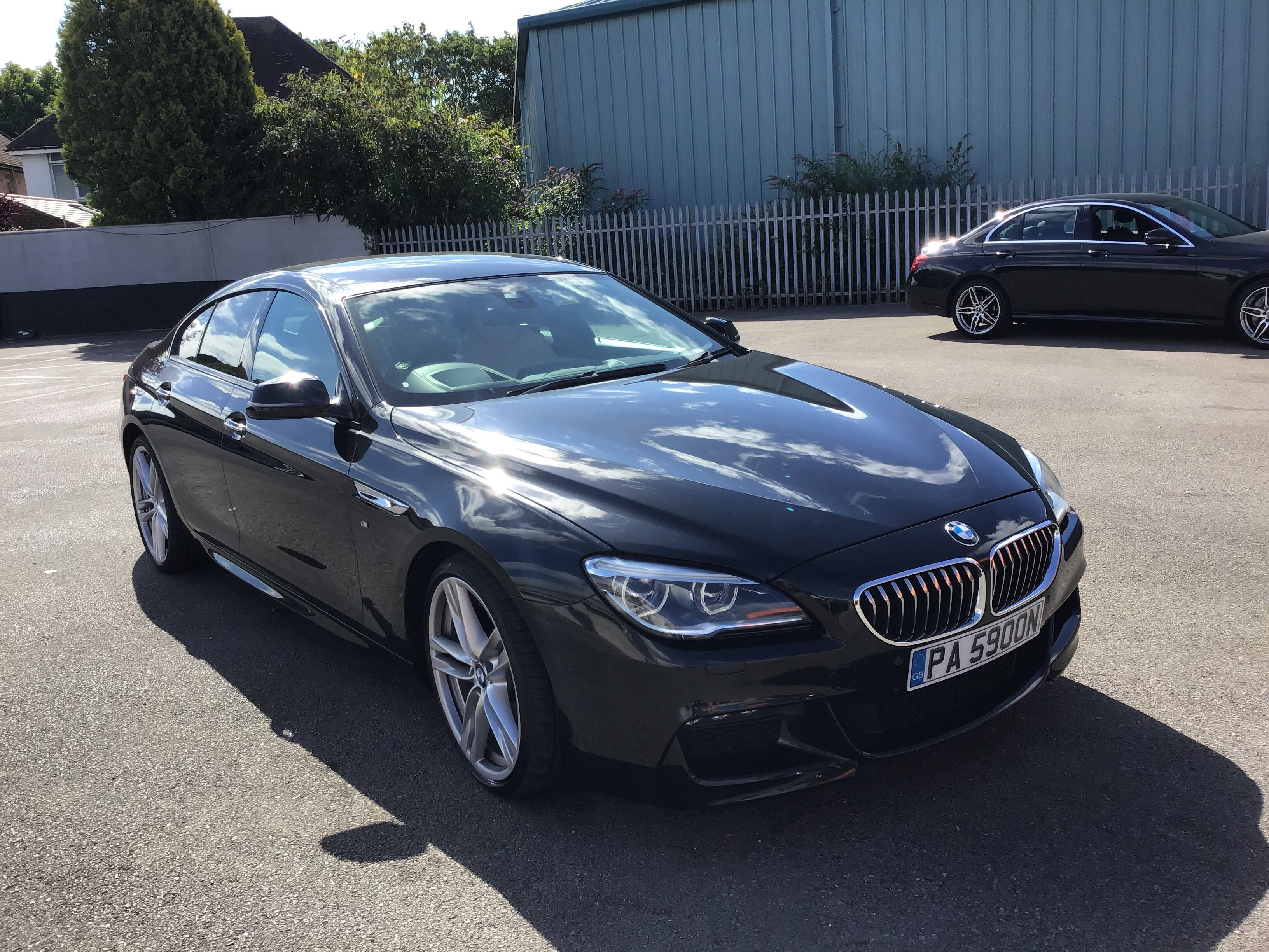 BMW 6 Series 3.0 640d M Sport 4dr Auto Coupe Diesel Black