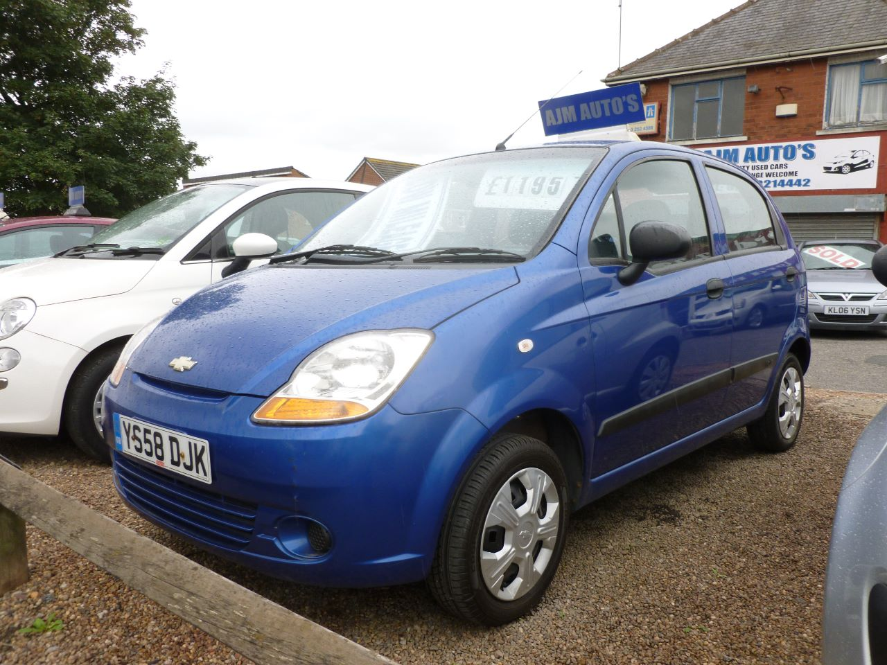 Chevrolet Matiz 0.8 S 5dr Hatchback Petrol Blue at AJM Autos Leeds Leeds