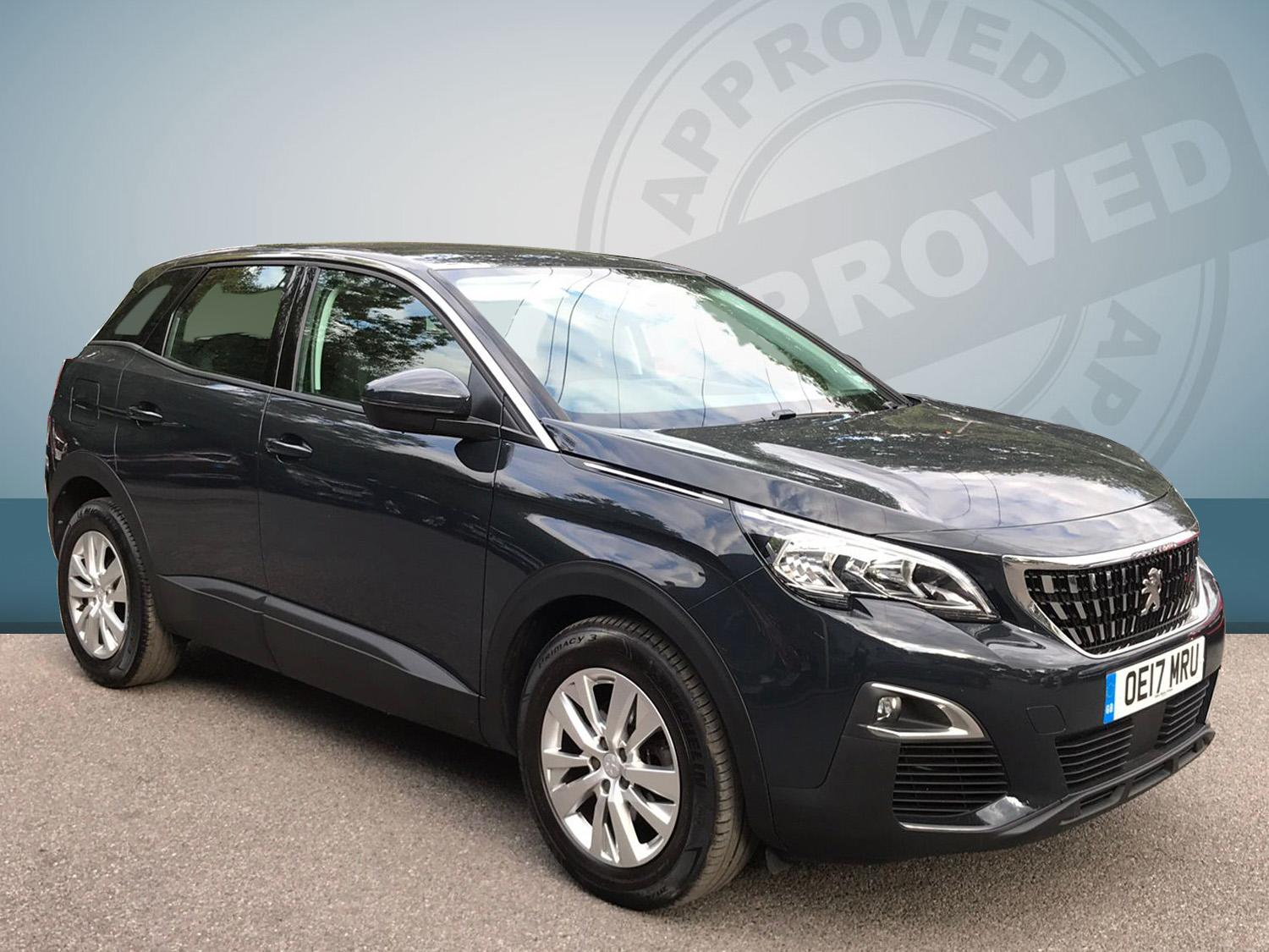 Peugeot 3008 1.2 Active S/s Hatchback Petrol Grey