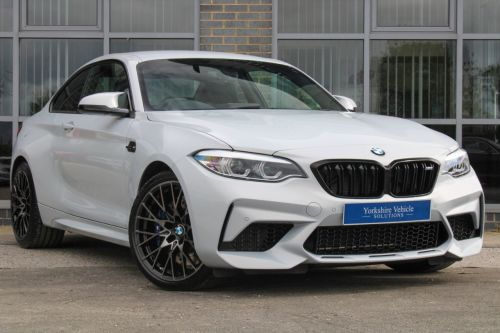 BMW M2 3.0 M2 Competition 2dr DCT Coupe Petrol Grey/silver