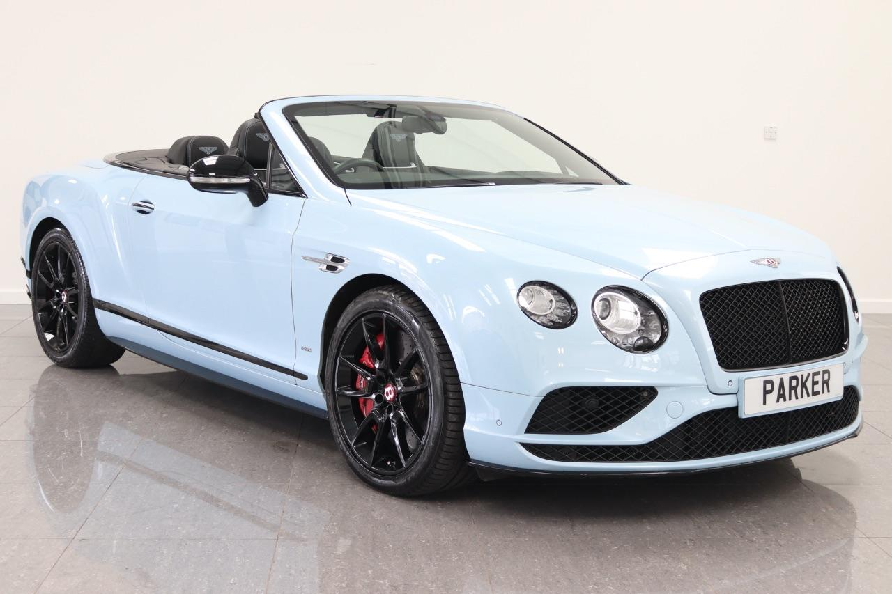 Bentley Continental GTC 4.0 CONTINENTAL GT V8 S AUTO Convertible Petrol Jetstream Blue