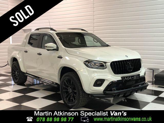 Mercedes-benz X Class 3.0 350d V6 MA-SV Widebody 4Matic Power D/Cab Pickup 7G-Tronic plus Pick Up Diesel Bering White