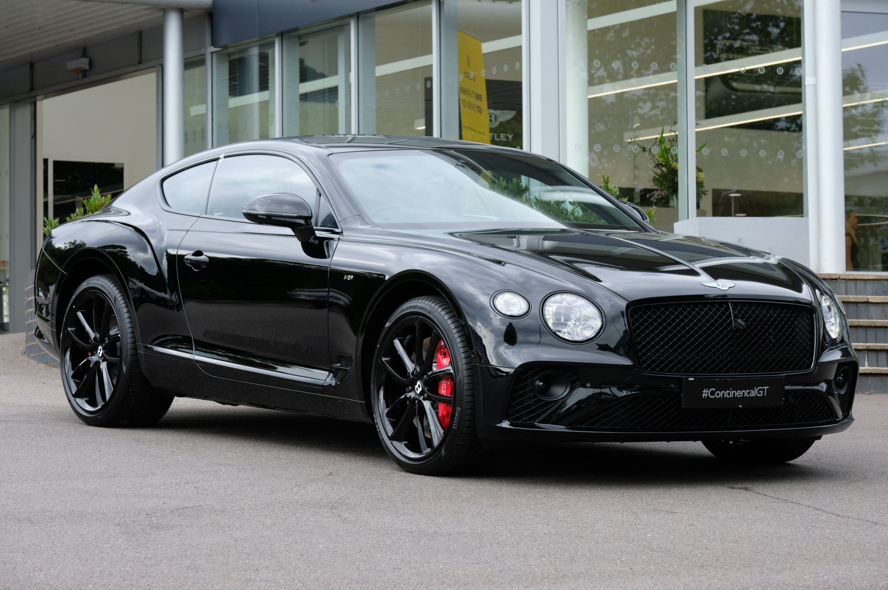 Bentley Continental GT 0.0 V8 Mulliner Driving Specification