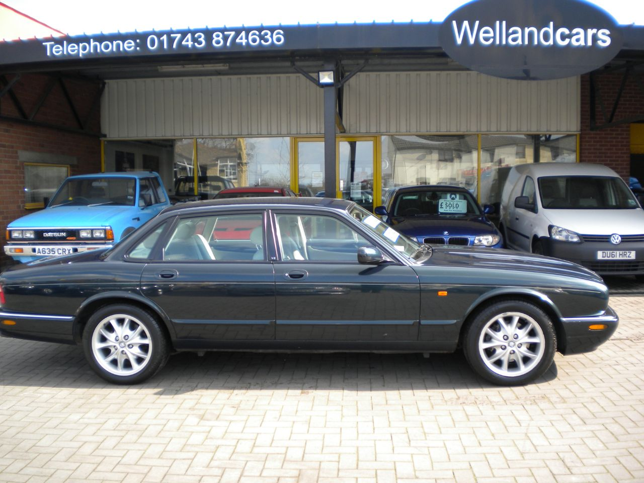 Jaguar V8 Xj Series XJ8 3.2 4dr Auto, Low miles, Only 2 Owners, 18`Alloys, Full Leather Saloon Petrol Green at Welland Cars Shrewsbury